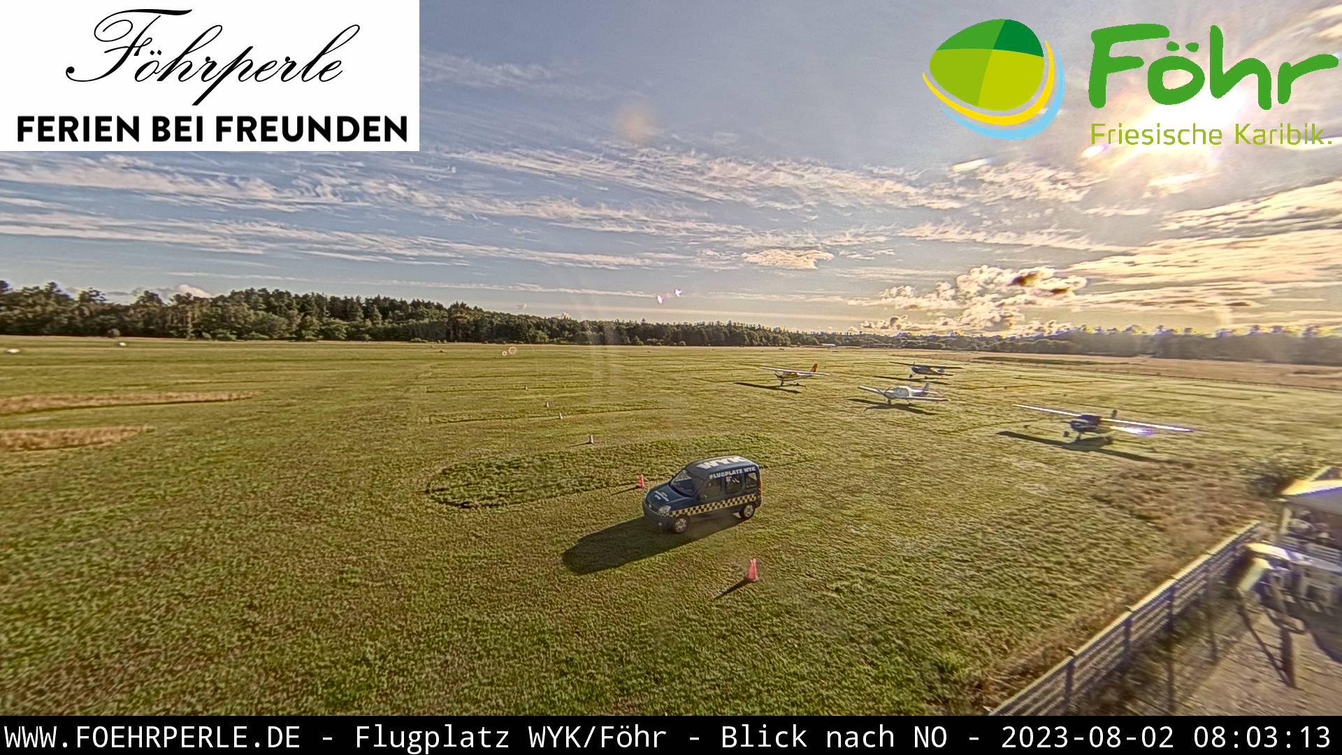 Webcam Föhr Flugplatz Wyk auf Föhr Webcams