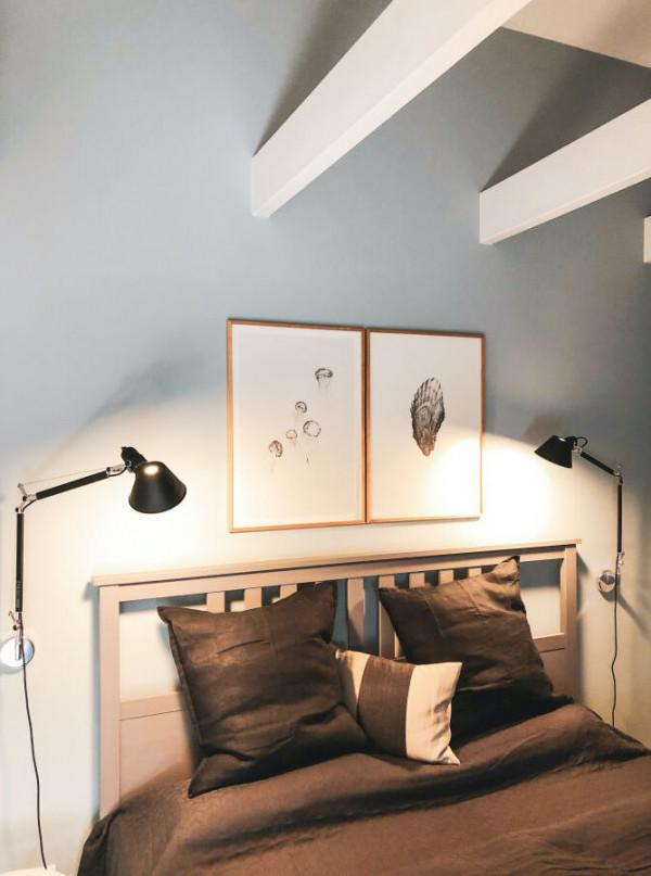 Schlafzimmer OG gemütliche Galerie